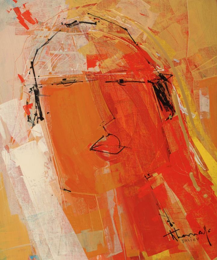 La Coiffeuse Japonaise René Lemay Artiste Peintre Québécois