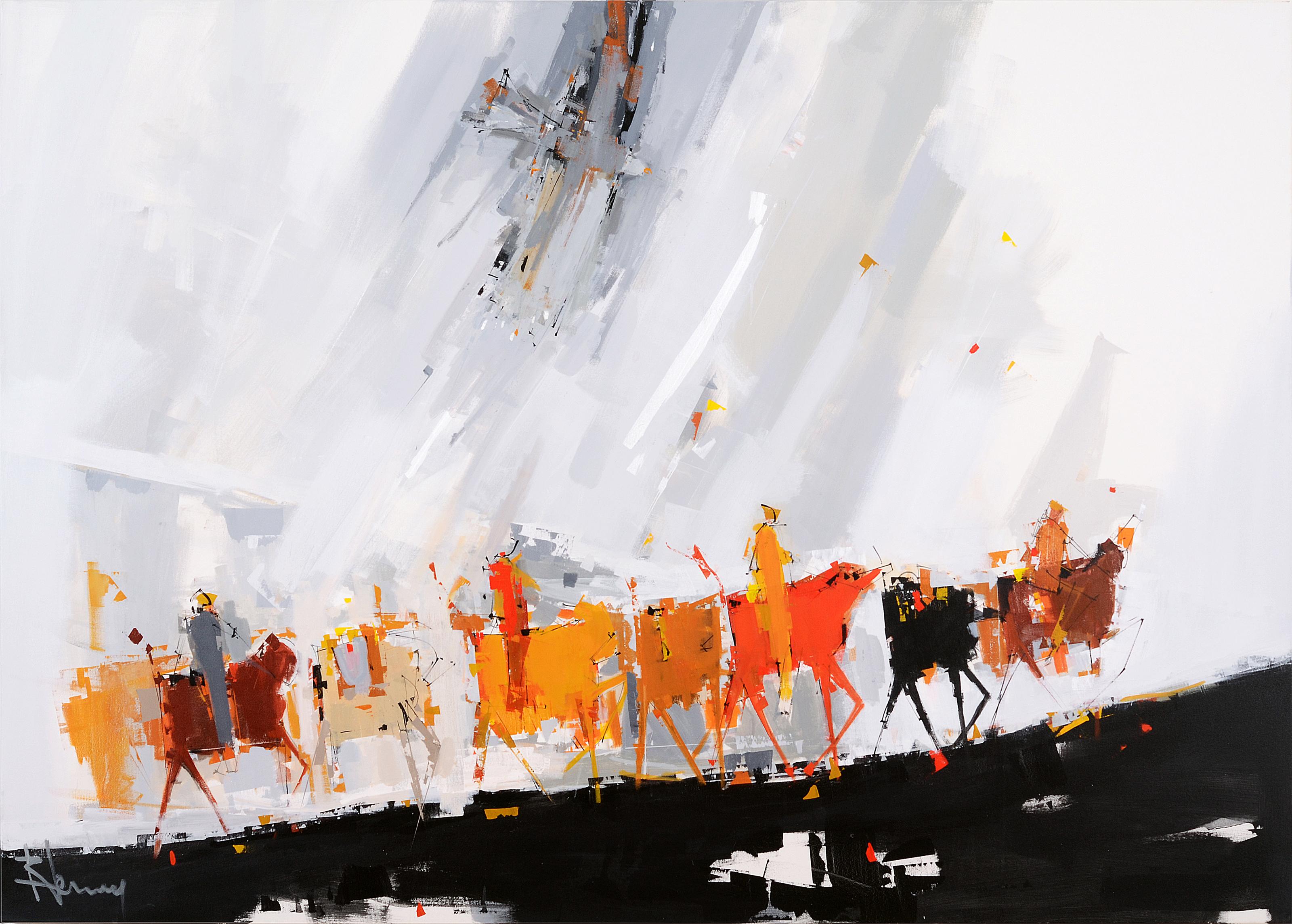 L 39 aigle ren lemay artiste peintre qu b cois for Architecte quebecois contemporain